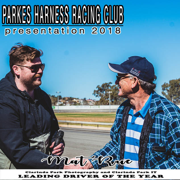 Parkes Harness Awards and Presentation 2018 - LEADING DRIVER OF THE YEAR
