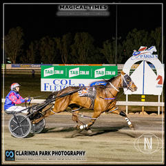 PARKES HARNESS - Race 6 - HRNSW REWARDS SERIES FINAL - MAGICAL TIMES wins at Parkes Trots