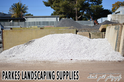 Parkes Landscaping Supplies Crushed White Off