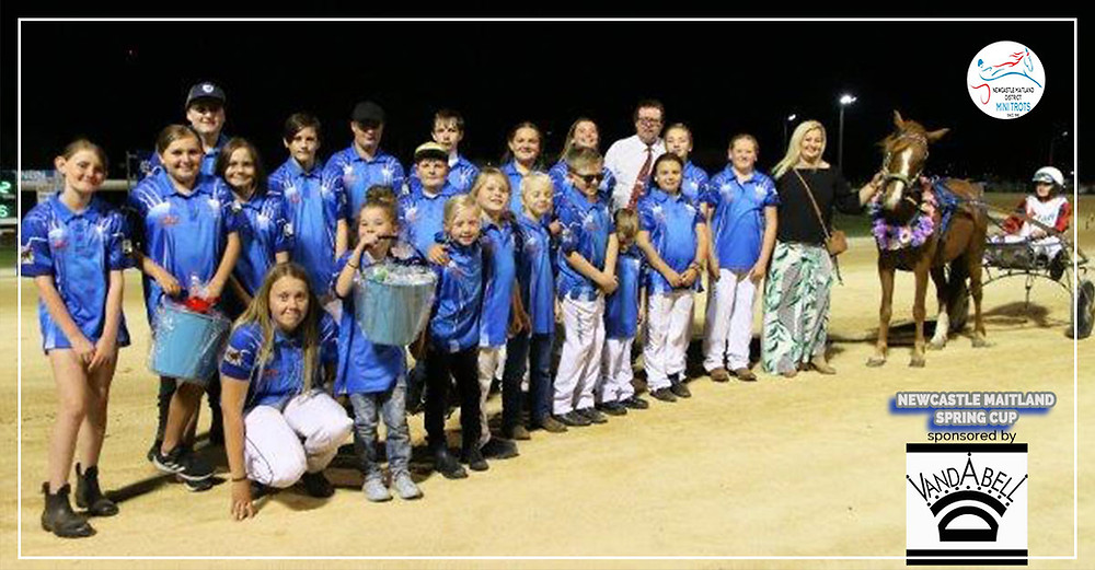Newcastle Maitland Mini Trots Spring Cup 2019 sponsored by Vandabell Equine Jewellery