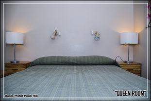 Oasis Motel Peak Hill - Queen Room - 006