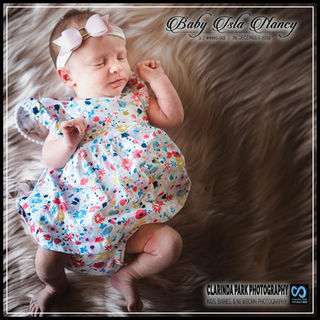 NEWBORN Photography: Baby ISLA NANCY