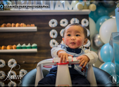 Event Photography: Liam Christening at Parkes, NSW