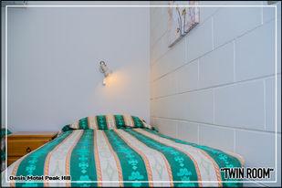 Oasis Motel Peak Hill - book Twin Room - 002