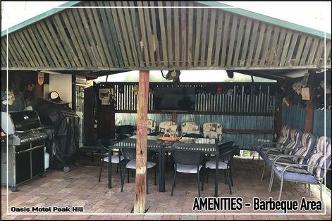 Oasis Motel Peak Hill amenities include barbeque area 006