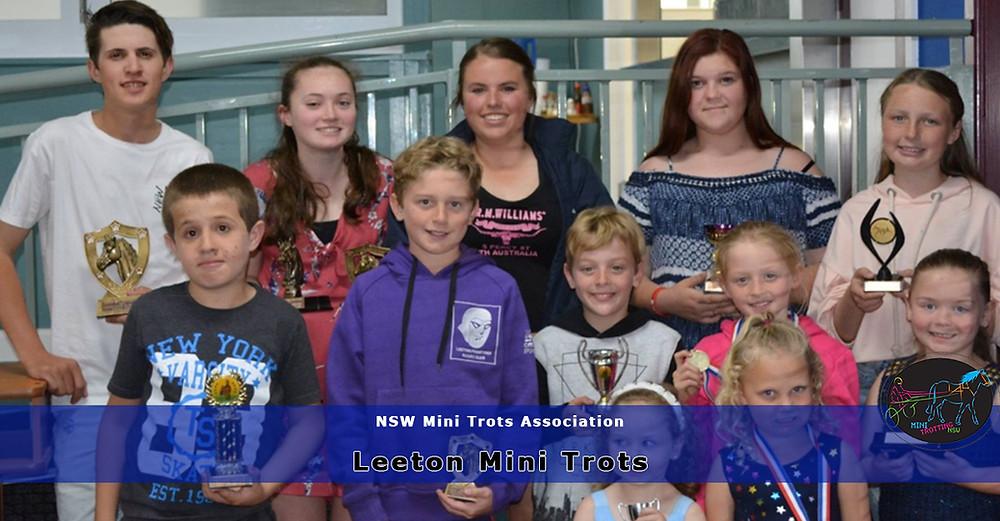 Leeton Mini Trots conducts its Annual General Meeting.. New South Wales Mini Trots Association.