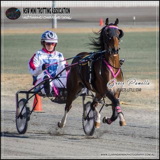 Retiring NSW Mini Trot Driver 2019   GRACE PANELLA