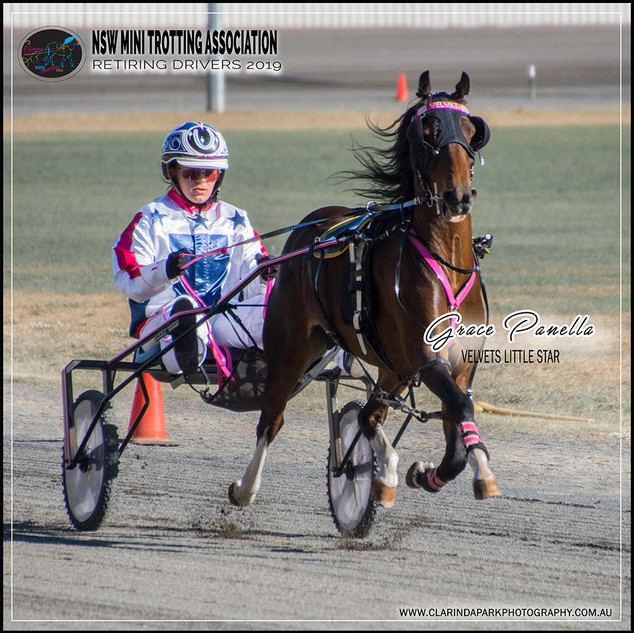 Retiring NSW Mini Trot Driver 2019 | GRACE PANELLA