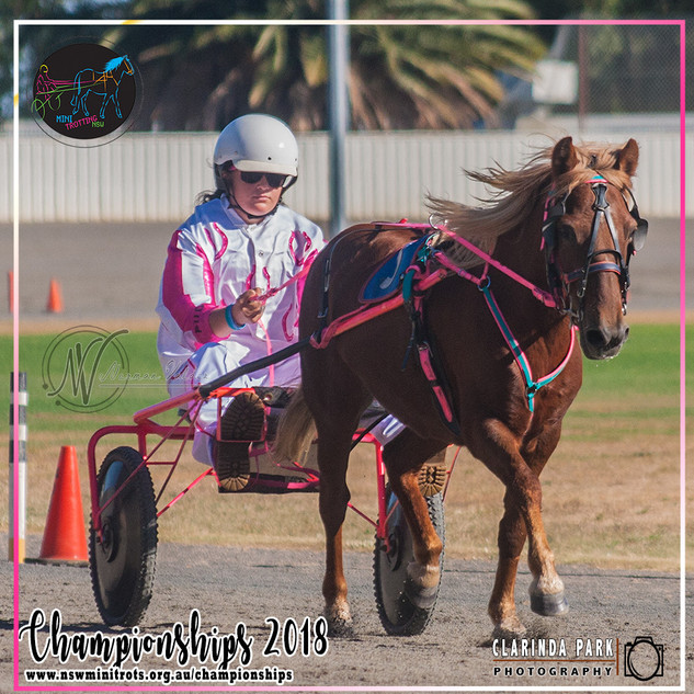 Championships 2018: Holly Bigeni With Thats Oro