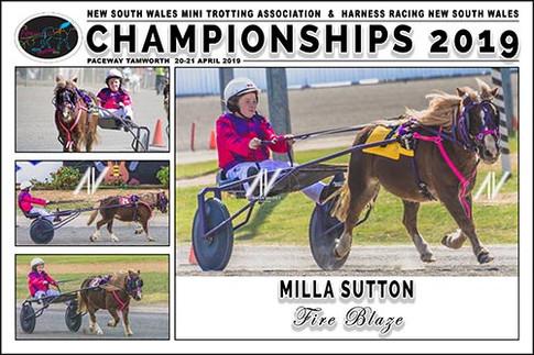 SUTTON Milla - Fire Blaze - 000