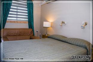 Oasis Motel Peak Hill - Queen Room - 007