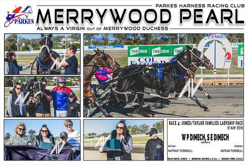 Race 4 - JONES/TAYLOR FAMILIES LADYSHIP PACE - MERRYWOOD PEARL