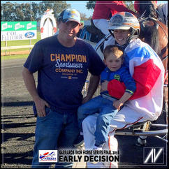 2016 IRONHORSE SERIES Winner - EARLY DECISION