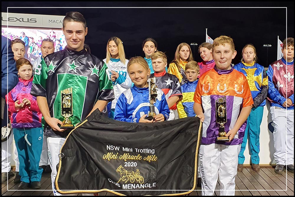 NSW Mini Trots - Miracle Mile 2020 - Midgets Division Winners