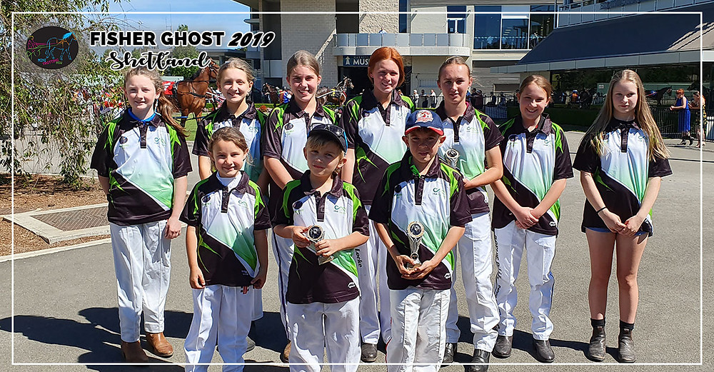 NSW Mini Trots Fishers Ghost 2019 - Shetland Division Participating Drivers