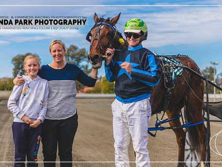 Parkes Harness Racing Club Winners - 07 July 2019