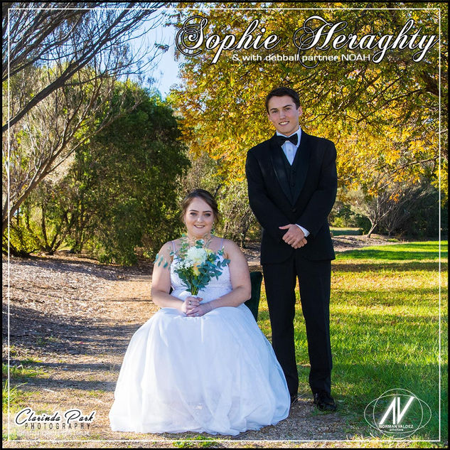 Sophie Heraghty - Debutante Photoshoot 2019: The Debutante and the Partner