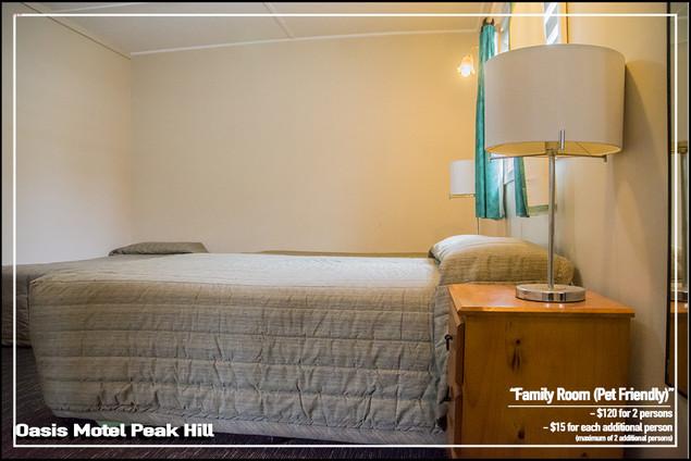 Oasis Motel Peak Hill - Family Room Pet Friendly 004