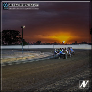 Sunset Photography at Parkes Showground