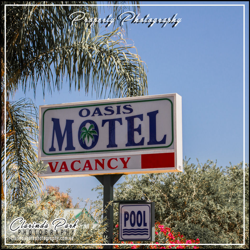 PROPERTY PHOTOGRAPHY: Oasis Motel Peak Hill
