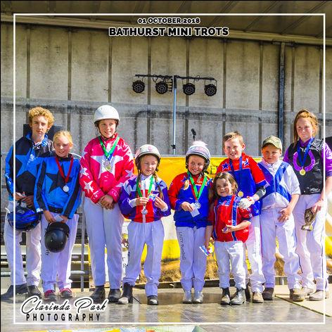 01 OCTOBER 2018 - Bathurst Mini Trots at Eugowra Harness Racing Club
