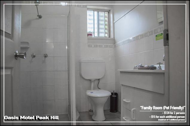 Oasis Motel Peak Hill - Family Room Pet Friendly 011