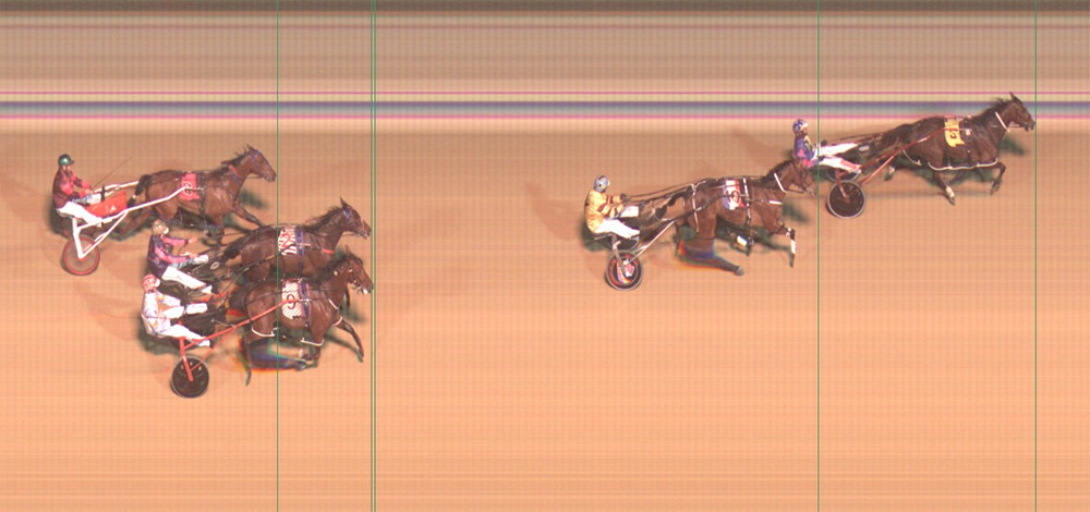 Former NSW Mini Trotter Ryan Sanderson Wins at Newcastle Paceway driving Don Boston at Race 5 Wolf Blass Pace