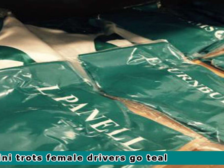 Mini Female Drivers to go Teal