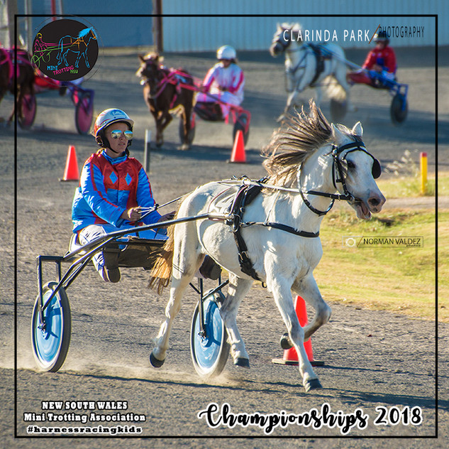 Championships 2018: Paige Bevan with Lucky