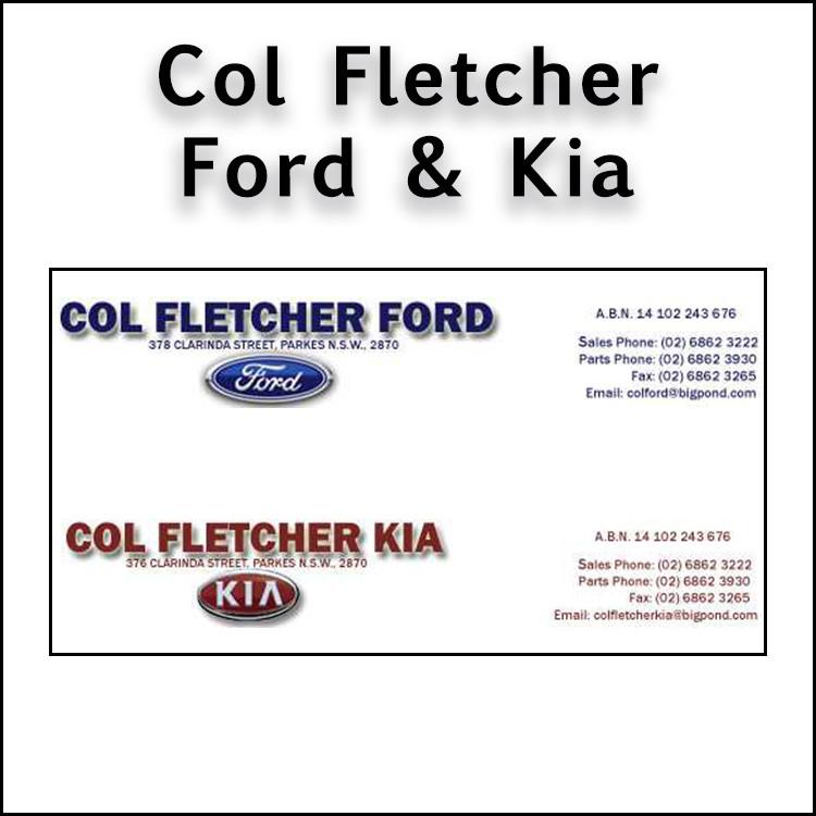 Col Fletcher Ford and Kia