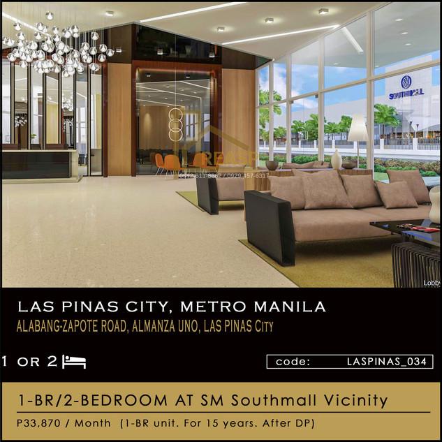 South Residences Unit For Sale at Las Pinas City Metro Manila, Philippines