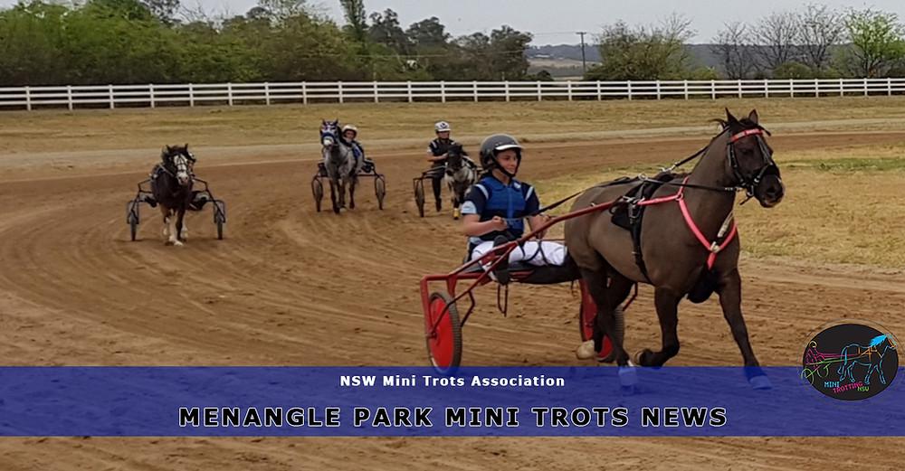 Menangle Park Mini Trots First Gala This Season. New South Wales Mini Trots.