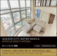 Units for sale at Le Grand 3 Eastwood, Quezon City