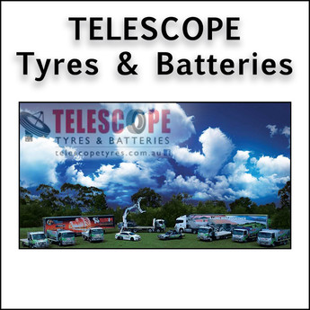 Telescope Tyres and Batteries