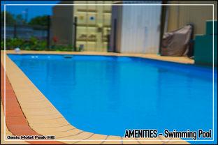 Oasis Motel Peak Hill amenities include swimming pool.