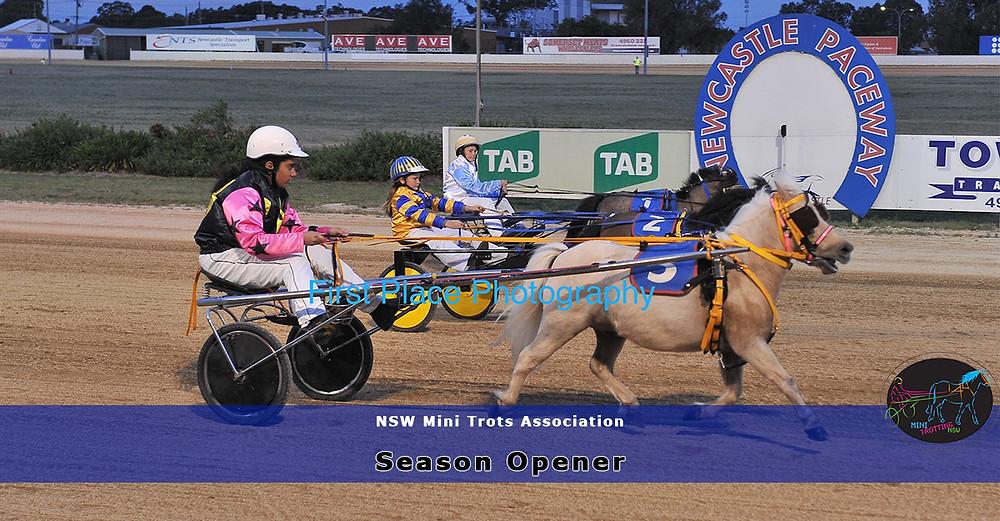 Newcastle Maitland Mini Trots Season Opener 2017-2018. New South Wales Mini Trots.