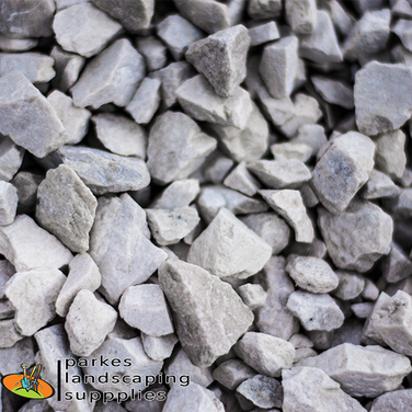 Crushed Off White | Stones & Pebbles | Parkes Landscaping Supplies