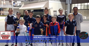 A very big Thank you to Jurds Earthworks for Sponsoring Menangle Park Mini Trots