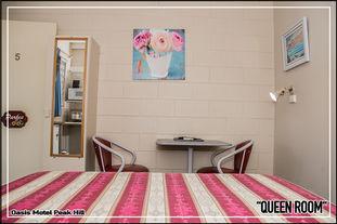 Oasis Motel Peak Hill - Queen Room - 021