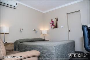 Oasis Motel Peak Hill - Queen Room - 001