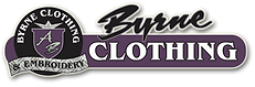 Parkes harness sponsor - Byrne Clothing