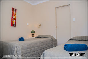 Oasis Motel Peak Hill - book Twin Room - 020