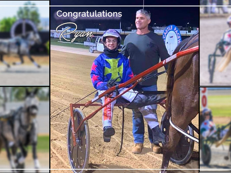 Former NSW Mini Trots, Ryan, Wins at Newcastle Trots
