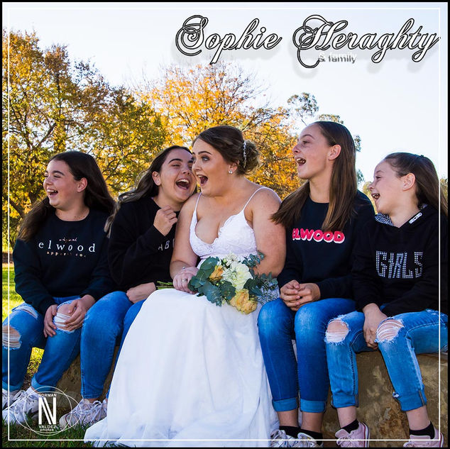 Sophie Heraghty - Debutante Photoshoot 2019: The Debutante and the family