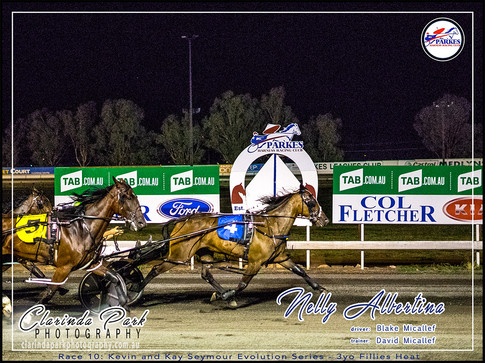 R10 - KEVIN & KAY SEYMOUR EVOLUTION SERIES 3YO FILLIES HEAT - Nelly Albertina - Blake Micallef - 02 - 001