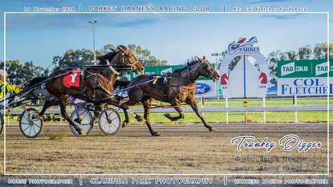 20181114 - Parkes Harness - R3 - Col Fletcher Ford Pace - 001