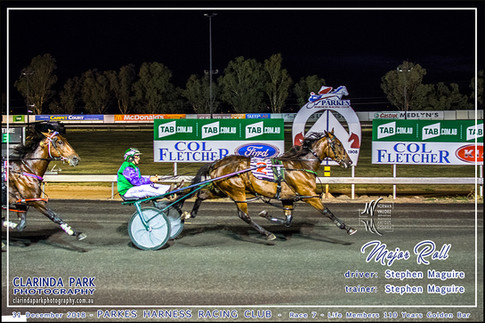 Race 7 - Life Members 110 Years Golden Bar - MAJOR ROLL - Stephen Maguire - 001