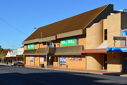 Parkes Leagues Club building. Biggest Event Venue in Parkes