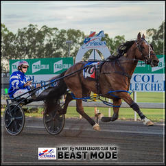 BEAST MODE, driven by Mat Rue, wins at Parkes Harness
