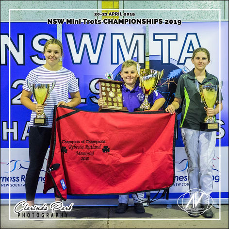 New South Wales Mini Trots Association Championships 2019 - Division Champions